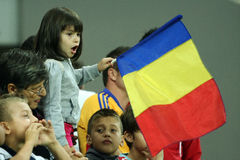 Preliminares de la taza de mundo 2014: Rumania-Andorra Foto de archivo