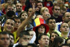 Preliminari della tazza di mondo 2014: L'Romania-Andorra Fotografia Stock