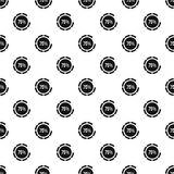 Preloader 75 percent pattern, simple style Stock Image