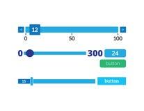 Preloaders barreeks vector illustratie