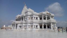 Prem świątynia, Mathura, India zdjęcie stock