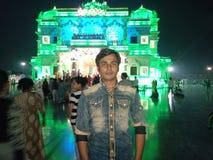 Prem Mandir 免版税库存图片