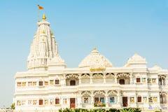 Prem Mandir, temple of love in Vrindavan Royalty Free Stock Image