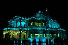 Prem Mandir Vrindawan στοκ εικόνες