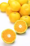 Premature delivery mandarin orange Stock Photography