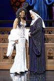 Premiär - den musikaliska systern agerar Royaltyfria Bilder