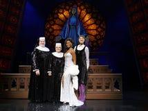 Premiär - den musikaliska systern agerar Royaltyfri Foto