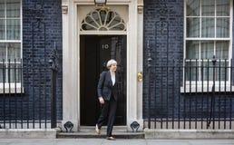 Premiärminister av Förenade kungariket Theresa May Fotografering för Bildbyråer