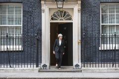 Premiärminister av Förenade kungariket Theresa May Royaltyfri Fotografi