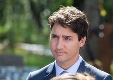 Premiärminister av Kanada Justin Trudeau Arkivbild