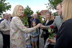 PREMIÄRMINISTER PÅ HENNES OMVAL COMPAIGN Royaltyfri Foto