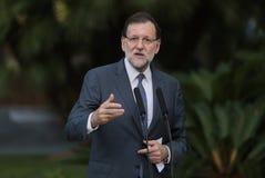 Premiärminister Rajoy 031 Royaltyfri Fotografi