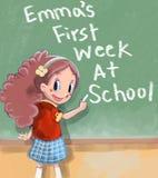 première école de jour Photos libres de droits