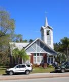 Première église épiscopale méthodiste (Fellsmere, Floride) Photo stock