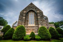 Première Église Méthodiste Unie à Hannovre, Pennsylvanie images libres de droits