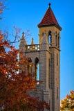 Première église presbytérienne dans Fort Smith, Arkansas Image stock