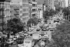 Première avenue Image stock