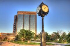 Première banque de Fidelity à Ville d'Oklahoma images libres de droits
