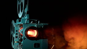 Première, betovering, retro, filmfilm, komedie, melodrama stock footage