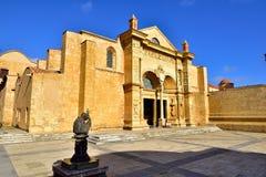 Première cathédrale de l'Amérique, Santo Domingo Photos stock