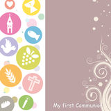 Première communion illustration libre de droits