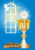 Première communion, Photo stock