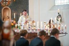 Première communion Photographie stock libre de droits