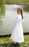 Première communion sainte image stock