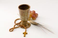 Sainte communion photographie stock