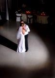 Première danse Photographie stock