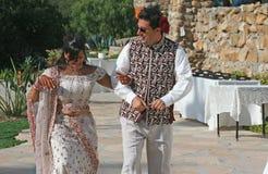 Première danse Photos stock