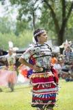 Première danse de descendant de nation Image libre de droits
