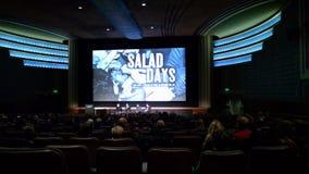 Première de C.C des jours de salade Photo libre de droits
