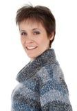 Première femme de fourties Images stock