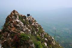 Première montagne d'ancêtre de Xinzheng photographie stock libre de droits