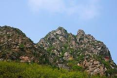 Première montagne d'ancêtre de Xinzheng photographie stock