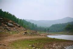 Première montagne d'ancêtre de Xinzheng photos stock