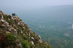 Première montagne d'ancêtre de Xinzheng image stock