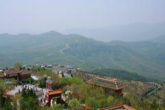 Première montagne d'ancêtre de Xinzheng images stock