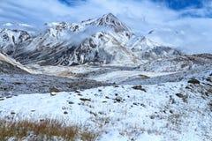 Première neige photo stock