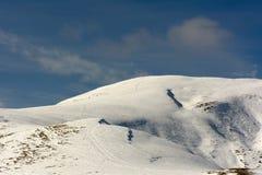 Première neige d'automne Images stock