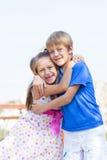 Première passion d'enfants Photographie stock