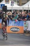 Première phase de course de Tirreno Adriatica Image libre de droits