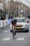 Première phase de course de Tirreno Adriatica Images libres de droits