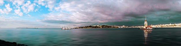 première s tour d'Istanbul Photos stock