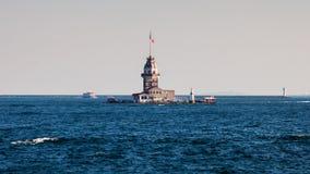 Première tour de bateau Photo stock