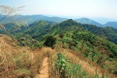 Première vue de montagne Image libre de droits