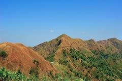 Première vue de montagne Photos libres de droits