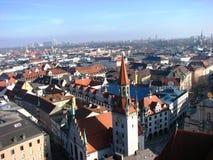 Première vue de Munich, Allemagne Image libre de droits