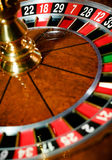 Première vue de roulette à la maison de jeu Photos libres de droits